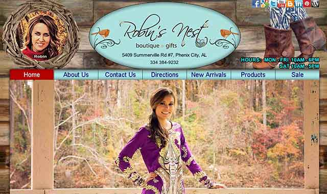 Robins nest boutique