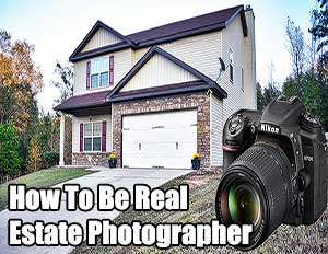 how to be real estate photographer blog